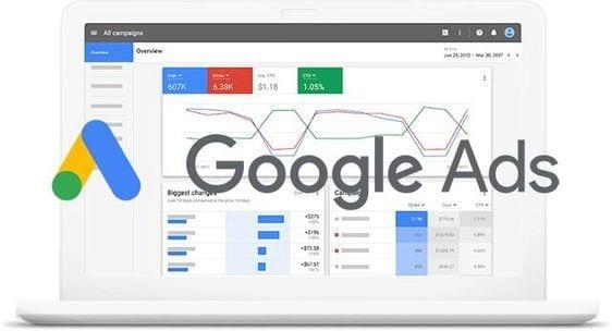 Google Ads, Google Adwords,, Google advertenties