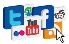 Facebook, Instagram, Twitter, LinkedIn, Pinterest