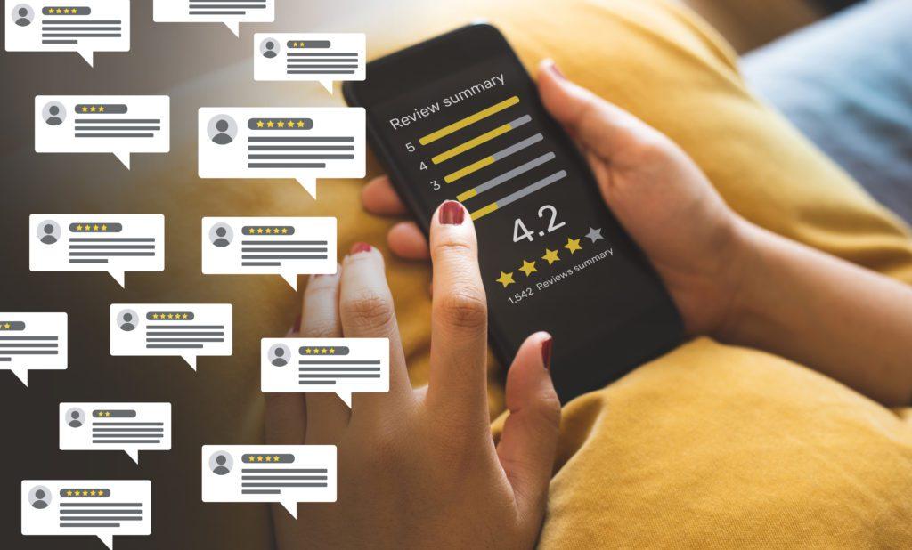 Lokale SEO woordenlijst, Google reviews, Google recensie